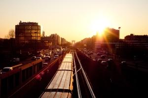 le métro se lève
