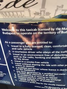 Budapest taxis