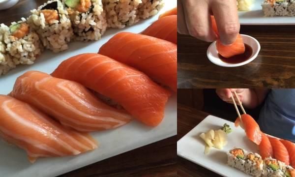 Sushi Etiquette